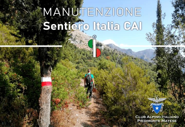 18 ottobre 2020 Manutenzione Sentiero Italia CAI