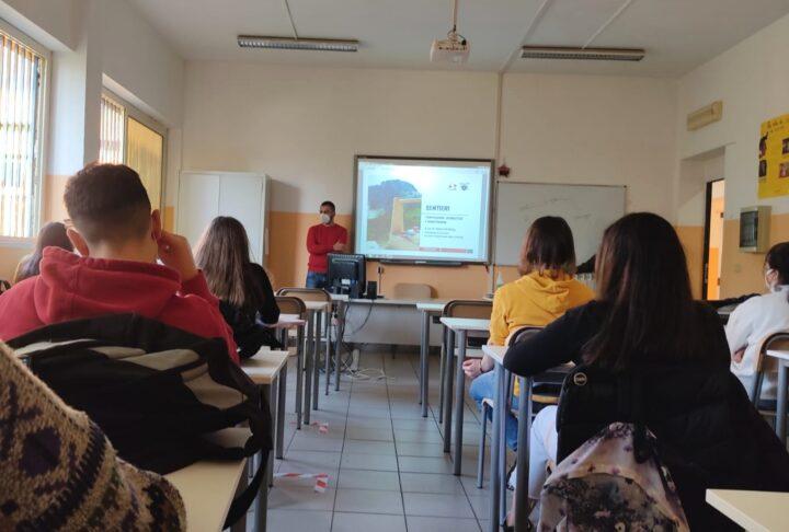 Monitoraggio dei sentieri con il Liceo Galileo Galilei di Piedimonte Matese