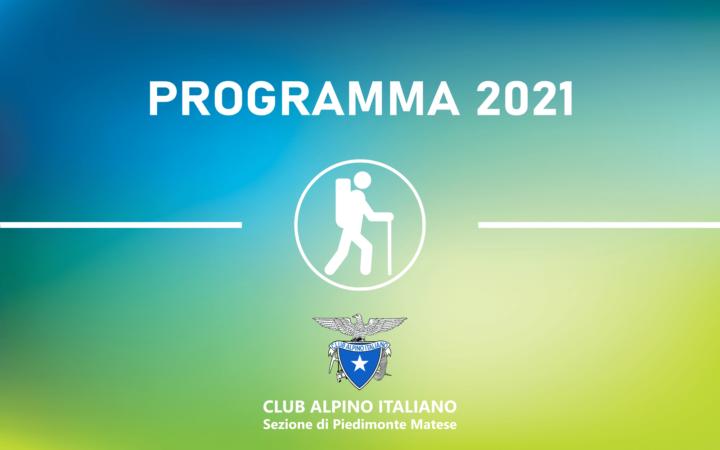 Programma escursioni 2021