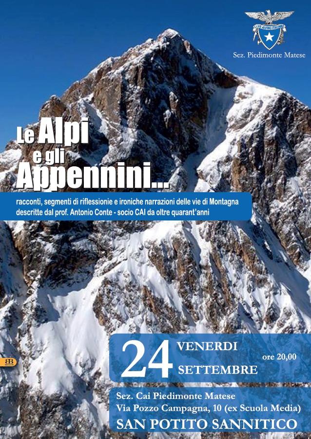 Venerdì 24/09/2021 - Le Alpi e gli Appennini...