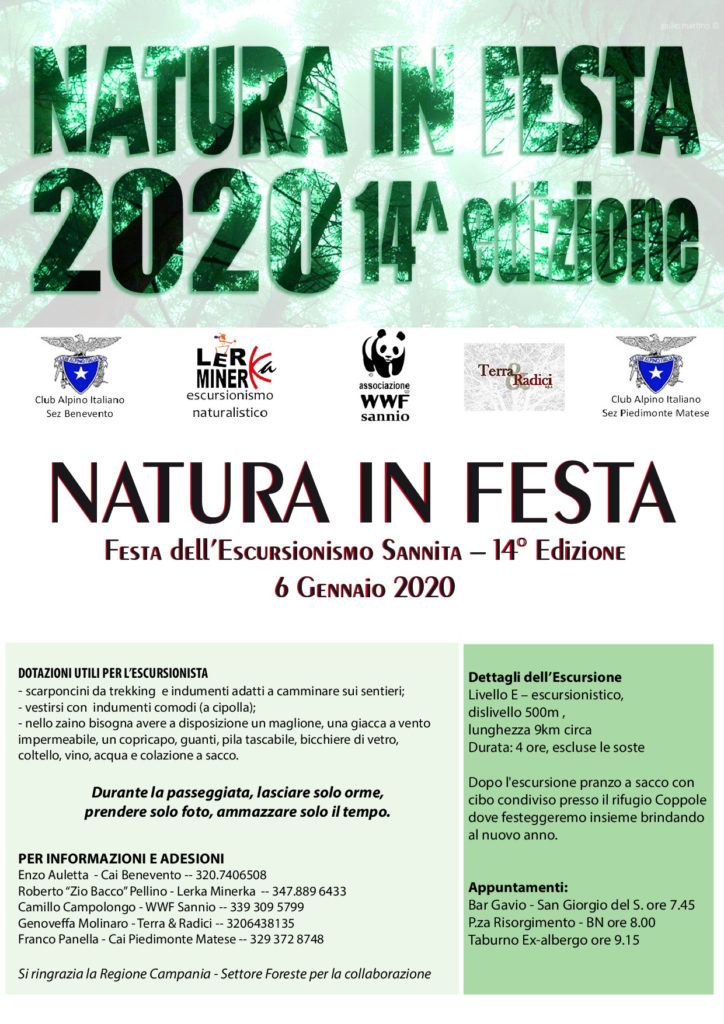 Natura in festa XIV edizione: Periplo del Taburno dall'ex-albergo